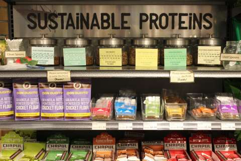 Creepy-crawly cookies: Mom's Organic Market adds crickets, mealworms to stores