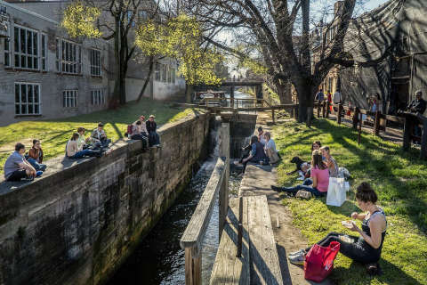 Georgetown's C&O Canal makeover nabs NYC High Line designer