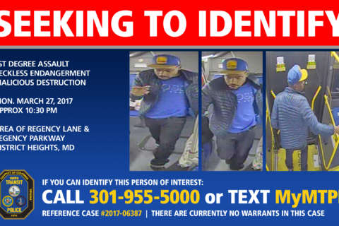Person of interest sought in Md. Metrobus shooting