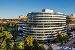 D.C.-based Washington Real Estate Investment Trust will buy 600 New Hampshire Avenue, NW, an office building in the Watergate complex, for $135 million. (Courtesy LHB Communications)