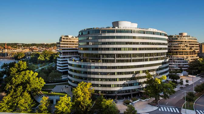 building an office. interesting office dcbased washington real estate investment trust will buy 600 new  hampshire avenue nw an office building in the watergate complex for 135 million inside building an office