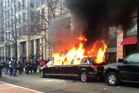 Lawsuit: DC police withholding reports on protest response