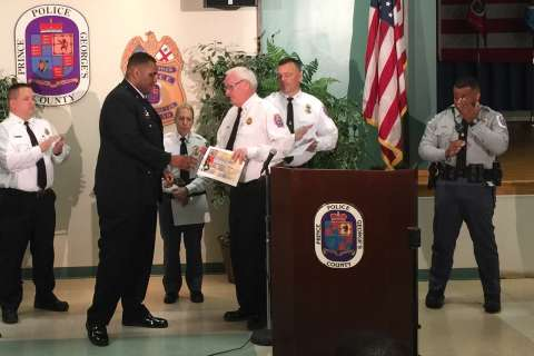 EMT saves life of his Prince George's Co. officer friend