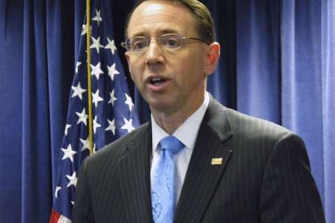 Bipartisan support for deputy attorney general nominee