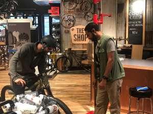 Bike fit for customer