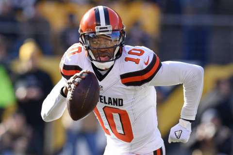 RG3 signs with Ravens