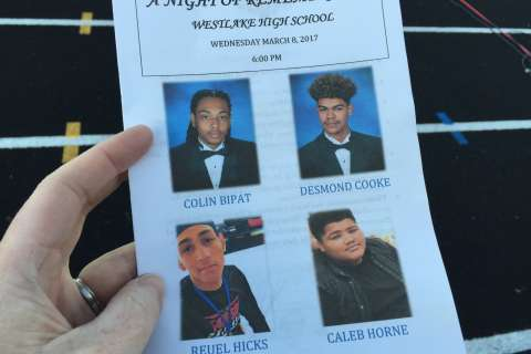 Md. high school remembers 4 seniors lost since July