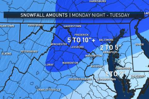 Winter strikes back: Nor'easter expected to unleash heavy snow