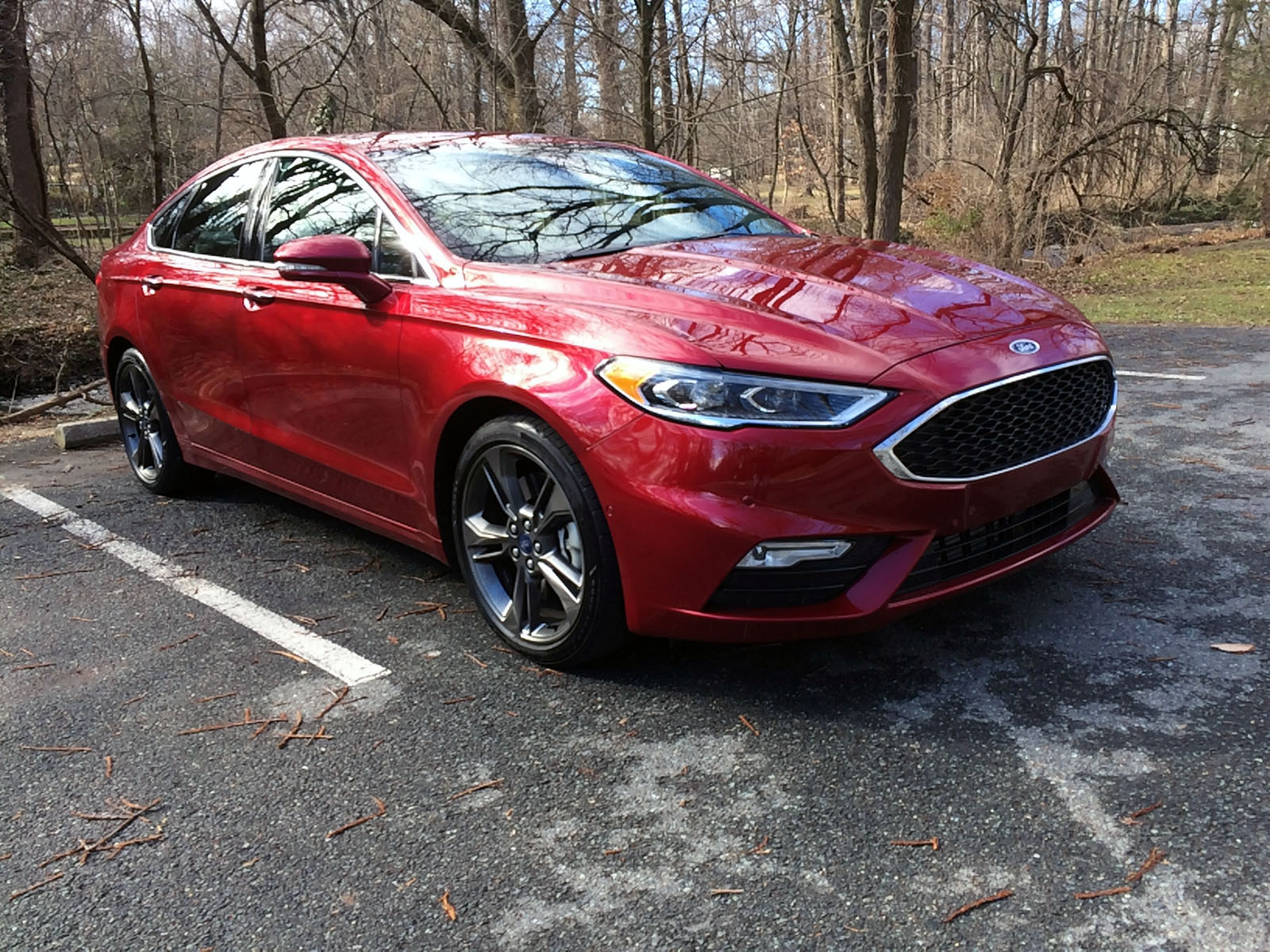 The 2017 Ford Fusion Sport, a powerful standout sedan