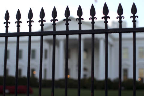 3rd time not a charm: White House fence jumper busted again