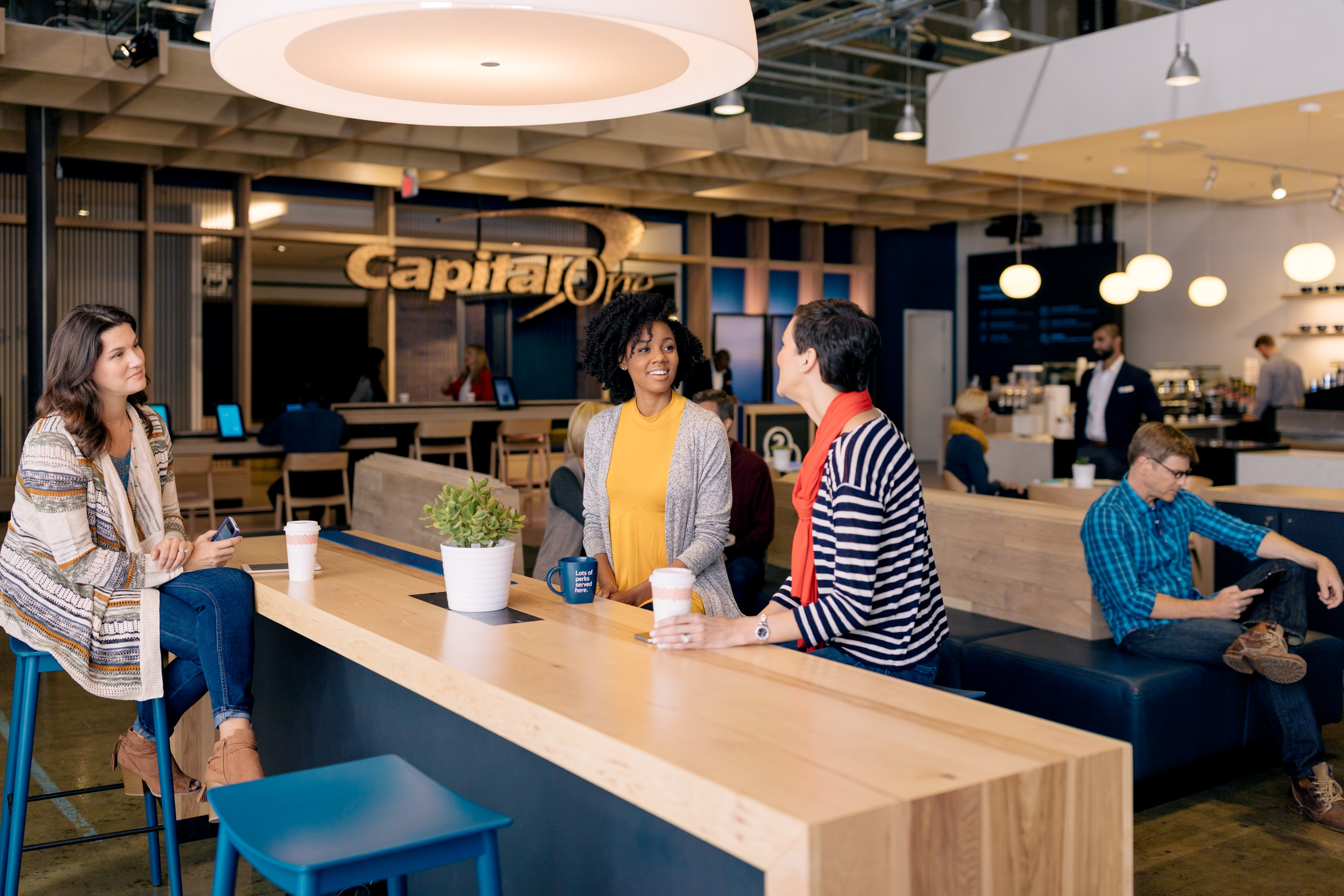 southsouthwest: banking, coffee combo brews at capital one   wtop