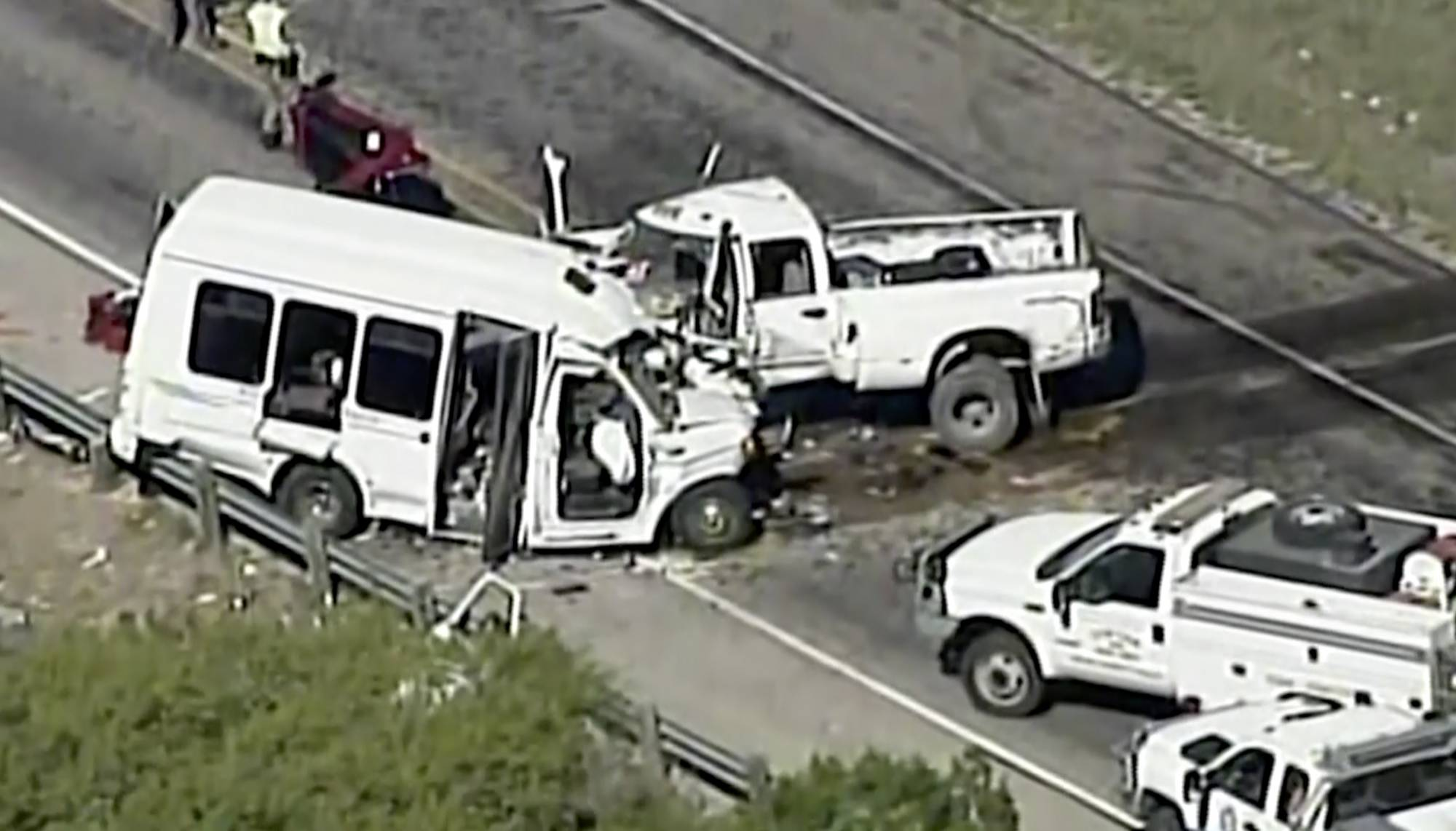 Texas church bus crash: NTSB wants to interview truck driver