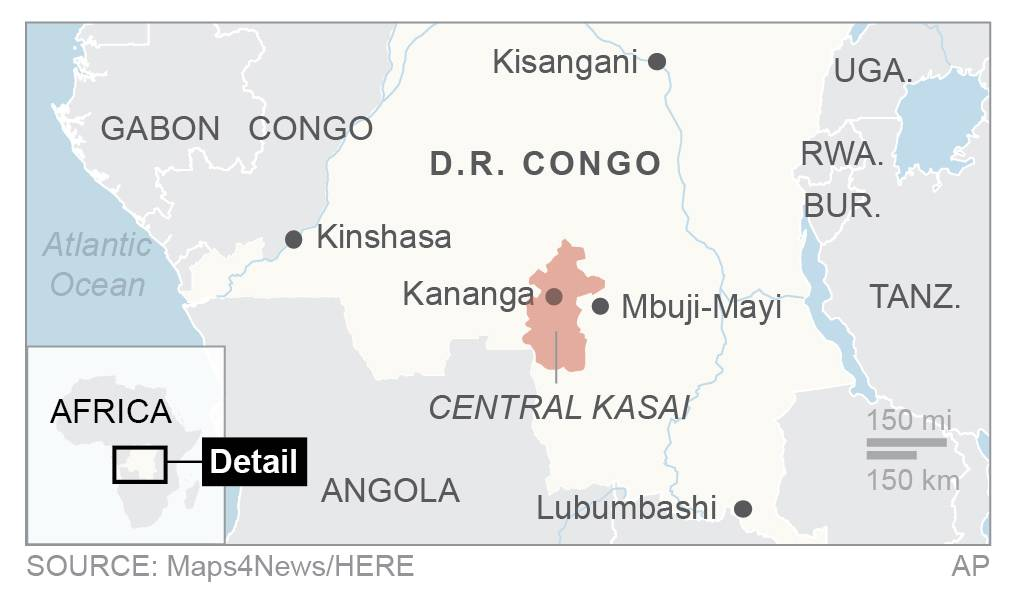 Bodies found in Congo likely those of United Nations officials - missing man's father