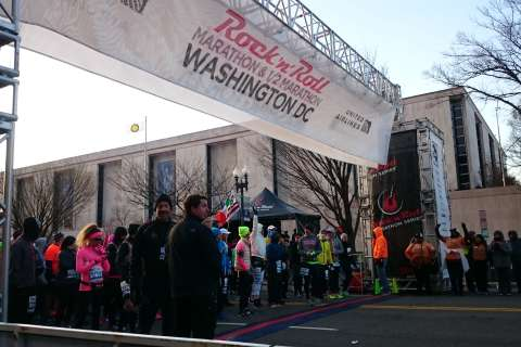 Rock 'n' Roll Marathon takes over chilly DC