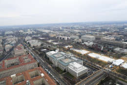 Crowds did not extend to the Washington Monument as Trump later asserted. (Courtesy National Park Service)
