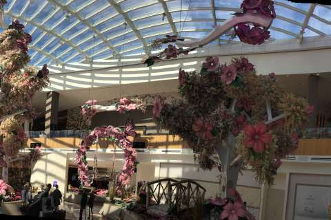 Vegas-style display blooms at MGM National Harbor