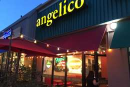 The Angelico pizza shop on Wisconsin Avenue in Tenleytown. (WTOP/Mike Murillo)