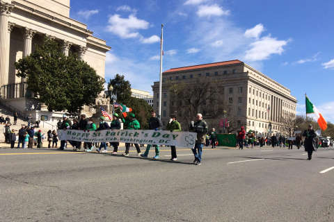 Photos: Revelry and floats at DC's 46th annual St. Patrick's Parade