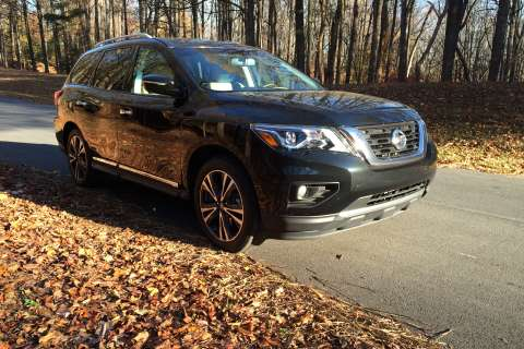 Nissan Pathfinder 2017: More power, more refined