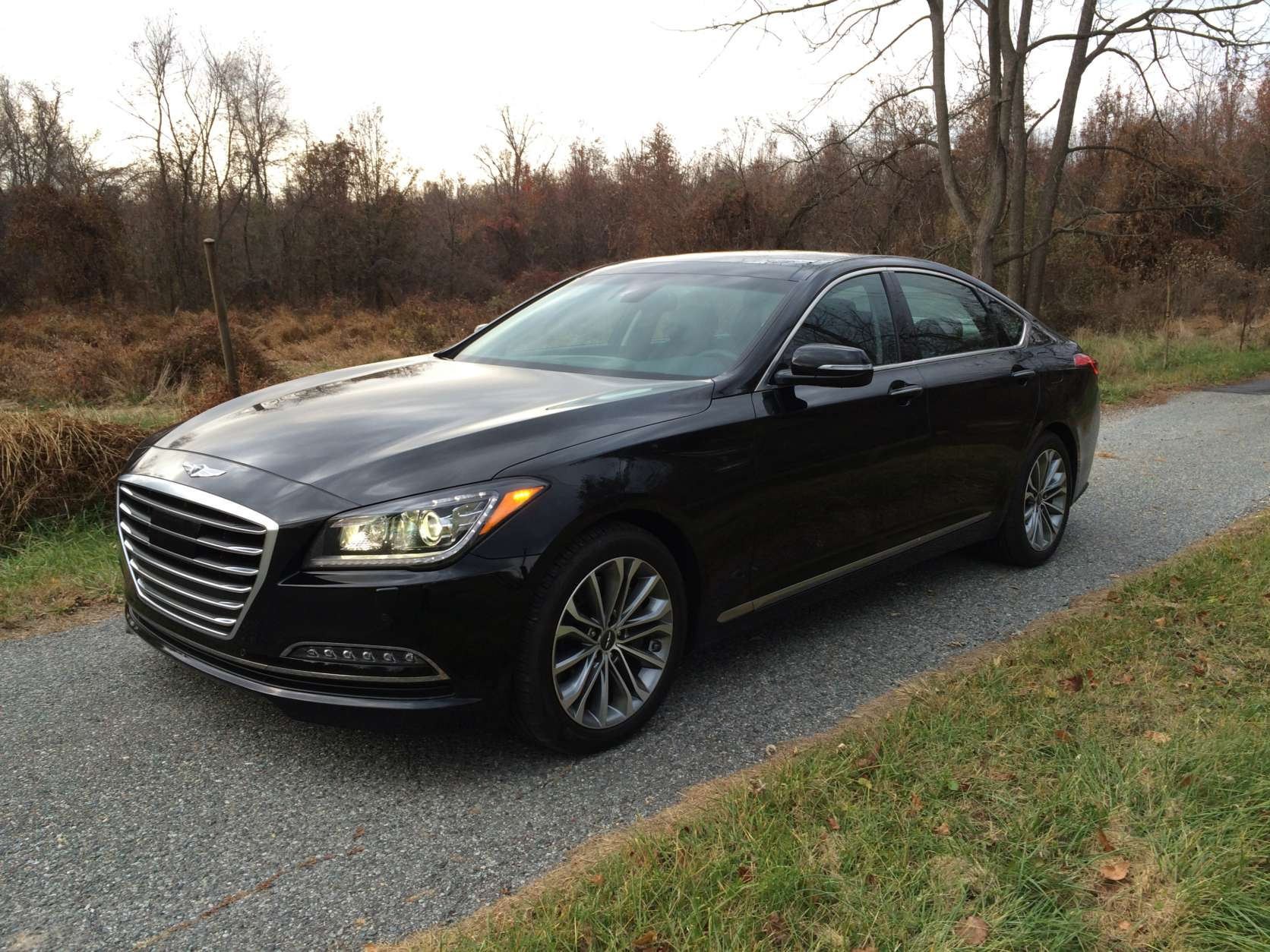 For 2017, Hyundai created the Genesis brand to better compete in the luxury market. (WTOP/Mike Parris)