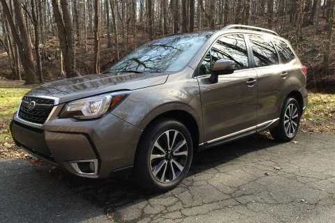 Subaru Forester 2.0XT, capable crossover with space, power