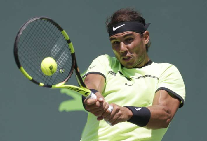 Rafael Nadal reaches Key Biscayne final for 5th time