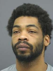 Prince William County Police said Jamel Kingsbury, 35, of no fixed address, is wanted for the murder of  Larry Donnell Drumgole, 44, of Rappahannock.(Courtesy Prince William County Police)
