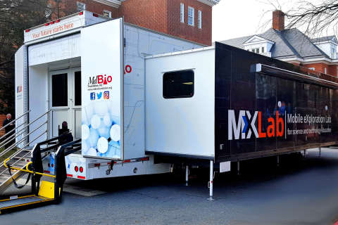 New mobile STEM lab to tour Maryland schools