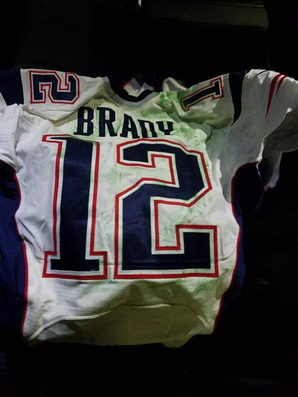 4348d01d2 Brady s Super Bowl jerseys returned to New England Patriots
