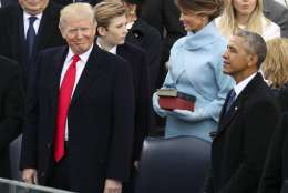 Obama offered accolades advice in farewell letter to trump wtop president barack obama greets melania trump as first lady michelle obama greets president elect donald trump at the white house in washington friday jan m4hsunfo