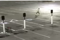 A parking lot surveillance camera image that shows the suspect. (Prince Goerge's County)