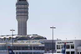 Reagan National Airport is seen in this Sunday, Jan. 24, 2016 photo. (AP Photo/Alex Brandon)