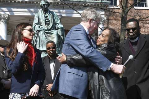Descendants in Dred Scott case call for racial reconciliation