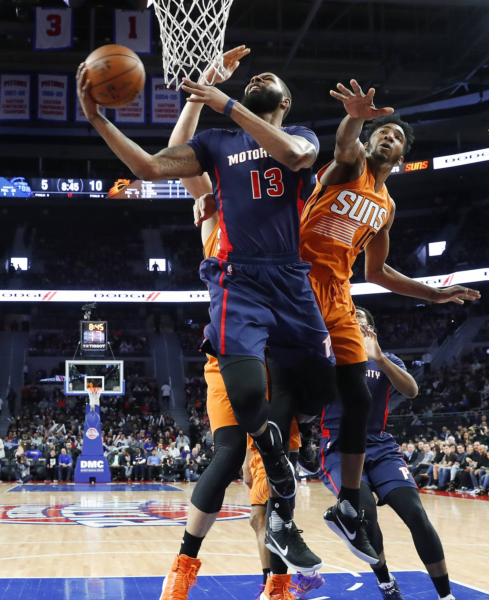 3ad182f19 (AP) — Stan Van Gundy wants his Detroit Pistons to play with energy in the  middle of a playoff race. The problem is that sometimes urgency leads to ...