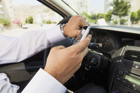 Hands off: Distracted driving risk changing