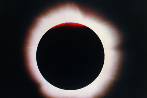 Solar eclipse requires special glasses. These are safest