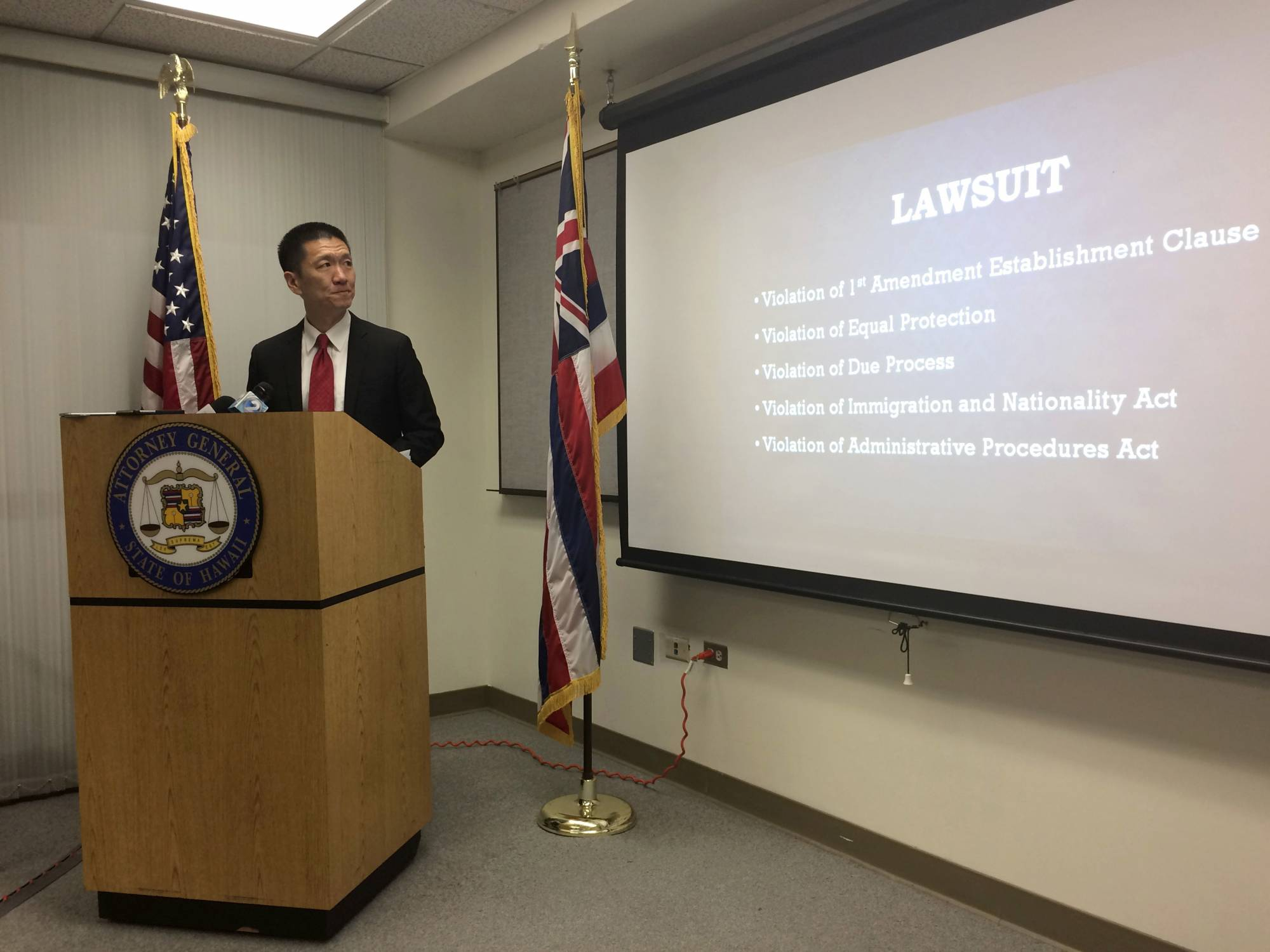 Hawaii AG: An appeal of travel ban ruling likely