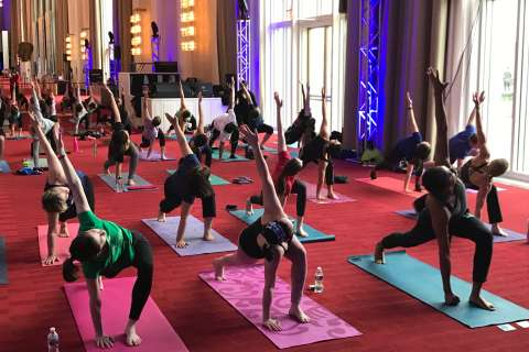Kennedy Center offers new twist in spring line-up: free yoga
