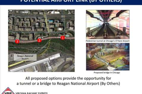 VRE looks to expand Crystal City station for easier access to airport