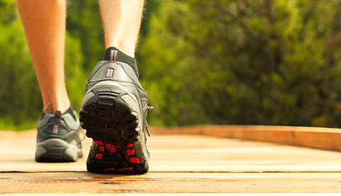 Walk away from colorectal cancer: Exercise can lower risk