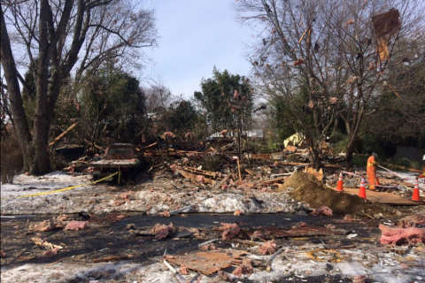 Bank sale loomed for Md. house leveled in blast; officials search for owner