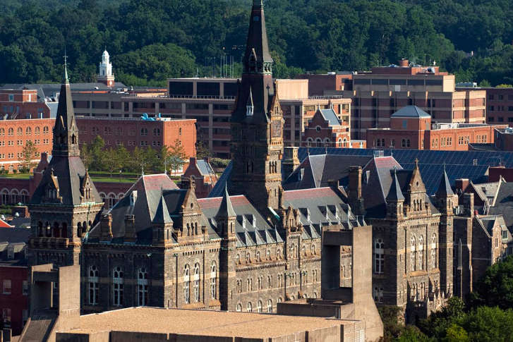 Georgetown university application essay foreign service