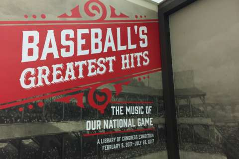 Library of Congress exhibit celebrates music of baseball