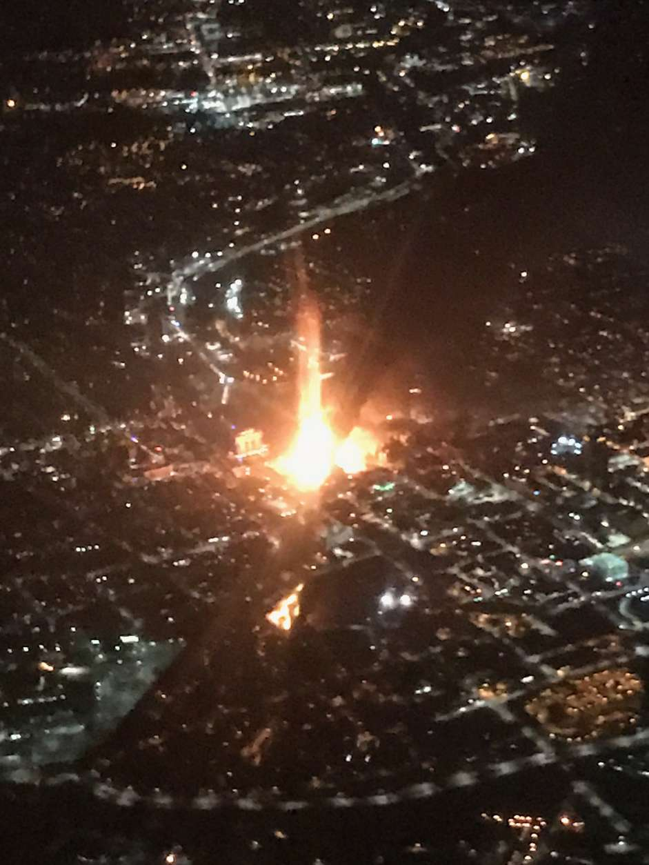 Ten homes and nine vehicles were damaged in the blast that leveled a Rockville, Maryland, house Friday morning. (Courtesy Seth Meyers)