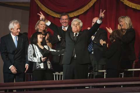 Jay Leno returns to Kennedy Center for stand-up comedy