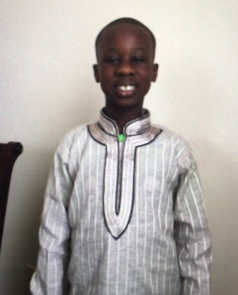 Mohamed Drame, 8, was reported missing in Lanham, Maryland. (Courtesy Prince George's County Police Department)