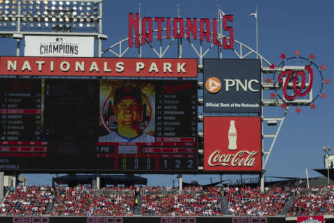 A designer's inspiration behind 'Scoreboard Walk' within Nats Park
