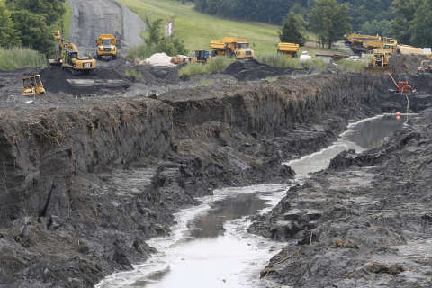 Residents, officials seek to halt coal ash storage at Possum Point