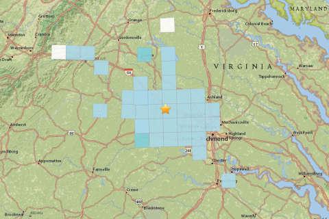Small earthquake shakes up area outside Richmond
