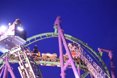 Rethinking next thrill-ride after Six Flags roller coaster rescue?